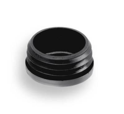 Kunststoff,Schwarz 4 Endkappen//Gleiter//Rohrstopfen für Rundrohre von 10-48 mm