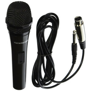 karaoke usa professional dynamic uni directional microphone w detachable cord ebay. Black Bedroom Furniture Sets. Home Design Ideas