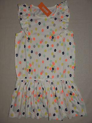 Gymboree HOP /'N/' ROLL Neon Dot Dress NWT 7 8 10 12 Spring Summer Beach Girls