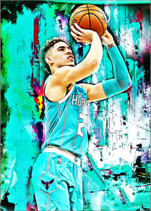 2021-Lamelo-Ball-Charlotte-Hornets-Basketball-2-25-Art-Print-Card-By-Q
