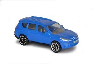 Majorette 212053051 Citroen C-Crosser blau 1:64 STREET CARS