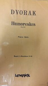 Dvorak Humoreskes Music Score K2 - <span itemprop=availableAtOrFrom>Bradford, United Kingdom</span> - If you are not happy with your item please return in the original packaging and with all tags attached within 30 days. Goods must be returned carriage paid. Refund of purchase price will - Bradford, United Kingdom