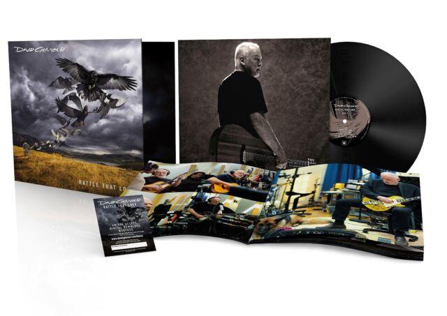 DAVID GILMOUR - RATTLE THAT LOCK: VINYL LP ALBUM (RELEASED SEPTEMBER 18 2015)