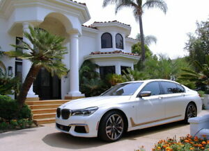 2017 BMW 7-Series M760i XDrive with RARE V12 & Factory FLAT White!