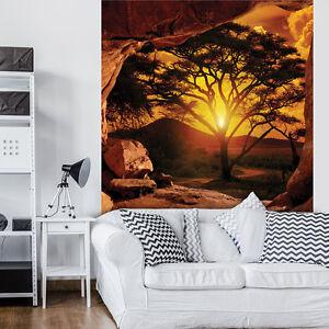VLIES-Fototapeten-Fototapete-Tapete-Natur-Afrika-Sonne-Baum-Blick-3FX10260VEA