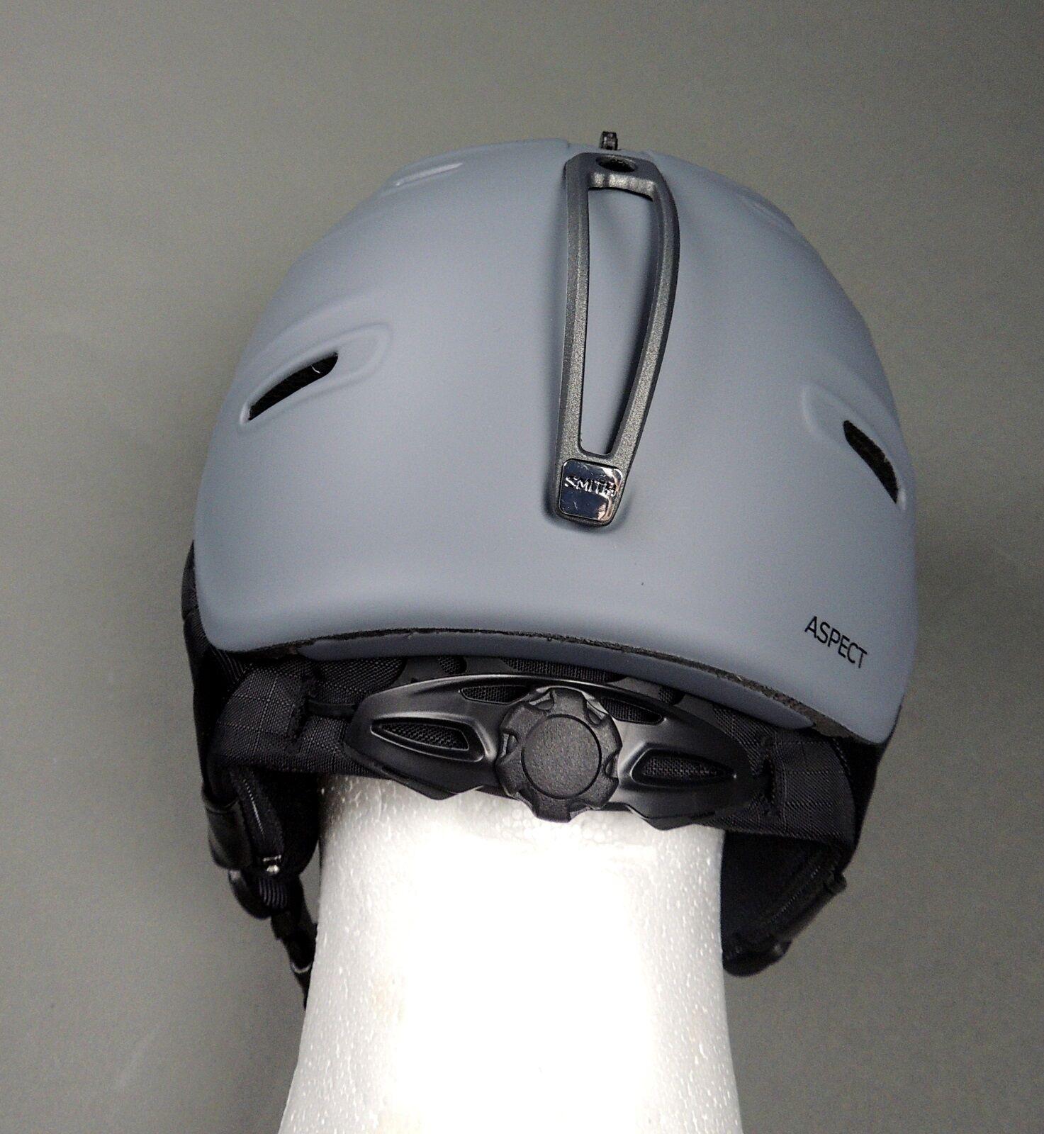 Smith Helmet Senior Aspect Ski / Snowboarding Helmet Smith Adult Charcoal (NEW) 85670f