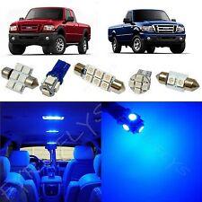 6x Blue LED lights interior package kit for 1998-2011 Ford Ranger FR1B