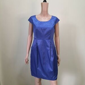 C1082-Jane-Story-Blue-Violet-Water-resistant-Dress-with-Front-Pockets
