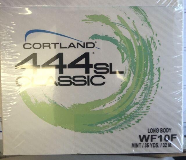 Cortland 444SL Classic WF3F Mint Long Body Fly Line FREE SHIPPING