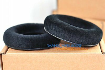 Thick Velour Velvet Ear Pads Cushion For ATH A500 X A700 A900 A950LP Headphones