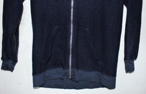 navy Basic Hoodie Wildfox Couture Women/'s Baggy Beach Zip Up Sweatshirt xs s l