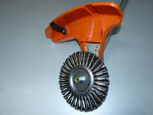 Wildkrautbürste 180 x 16 mm Motorsense Freischneider Unkrautbürste MCCulloch MAC