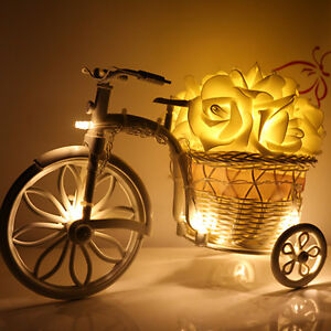 20-LED-Rose-Flower-Fairy-Wedding-Garden-Party-Christmas-Xmas-String-Lights-Decor