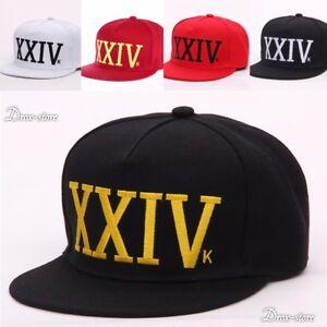 6d8f0bfbf7a43 New Bruno Mars 24k Magic Baseball Cap Black and Red Hat Hip Hop XXIV ...