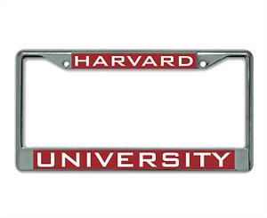 Emory University Alumni Chrome License Plate Frame