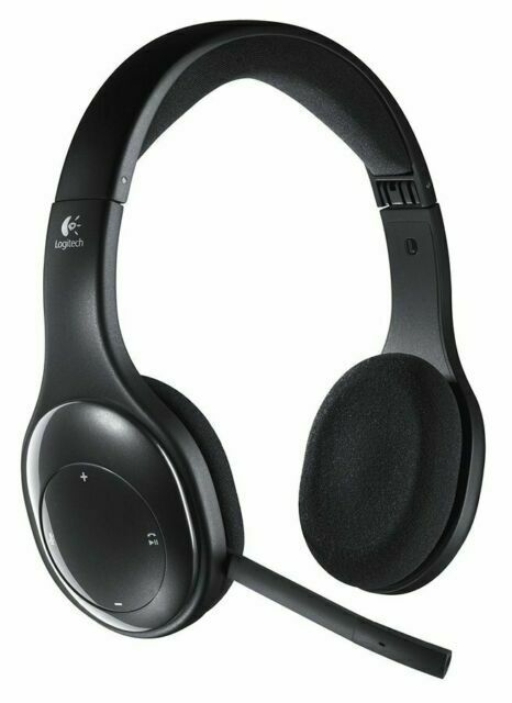 Logitech H800 Black Wireless Over The Head Headset With Mic For Sale Online Ebay