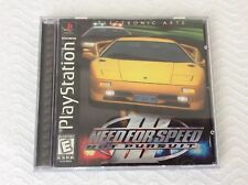 Need For Speed Iii Hot Pursuit Sony Playstation 1 1998 For