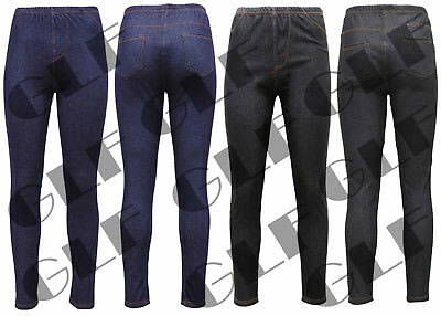 Gewidmet New Ladies Womens Stretchy Jeans Denim Pants Skinny Jeggings Plus Size 8-16