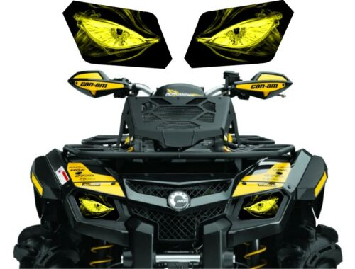 CAN AM  BRP OUTLANDER 800 800R efi 650 500 max 400 HEADLIGHT  DECAL STICKER 4