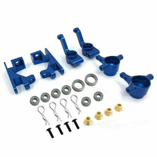Alloy Steering Blocks C-Hub Arm Upgrade For 1//10 Traxxas Slash 4X4 Rustler