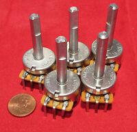 5 Pcs - Cts 10k Audio Taper Pot - 24mm A10k Ohm Potentiometer Pc Pins R1379704 L