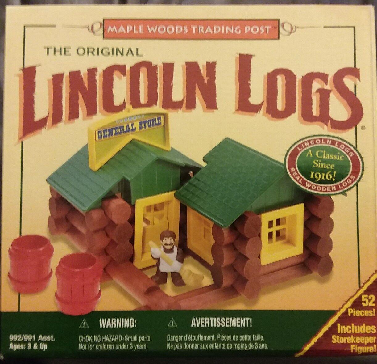 Original - lincoln logs gemischtwarenladen gebäude 52 versiegelt pcs im offenen feld fr   sh