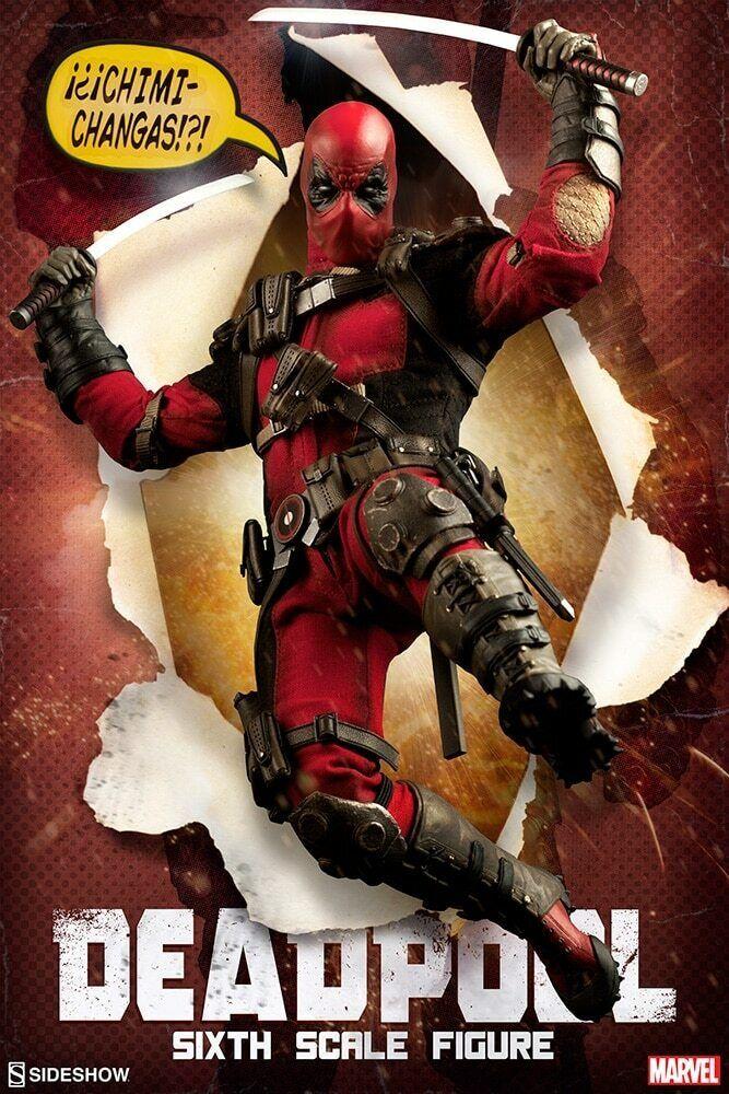 El nuevo outlet de marcas online. Sideshow Marvel Exculsive Deadpool Deadpool Deadpool con Headpool  servicio honesto