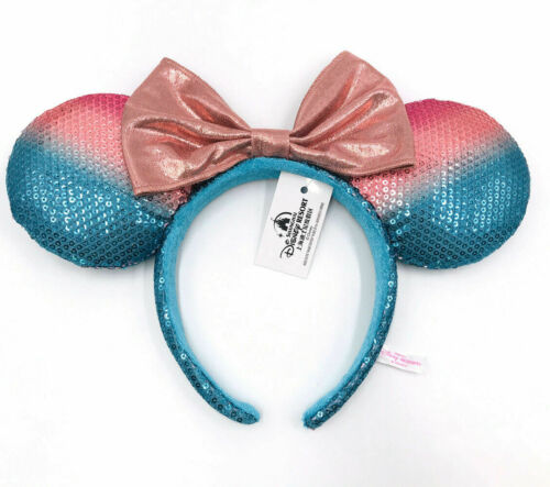 sequins A girl version of Minnie/'s ears and a rare Disney Resort headscarf