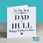 Personalised Fathers Day Card The Best Dad Card For Dad