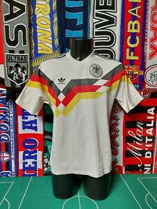 Maglia Calcio Germania Home 1990 Shirt Trikot Camiseta Maillot Jersey Germany