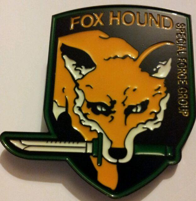 Metal Gear Fox Hound Buckle fits standard belt