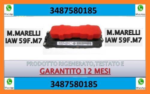 IAW 59F M7 ECU magneti marelli CENTRALINA MOTORE