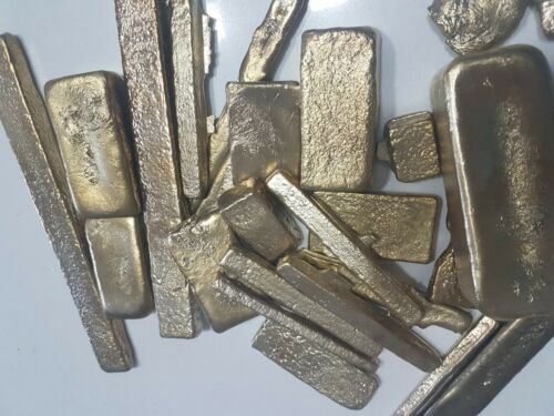 90 grams Scrap gold bar for Gold Recovery melted different computer coin pins