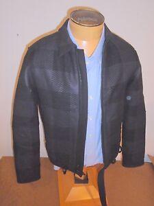 Rag-amp-Bone-Wool-Blend-Vulcan-Kingsley-Jacket-NWT-695-Black-amp-Charcoal-Size-38