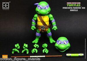 Herocross Hybrid Metal Figuration Les Tortues Ninja Donatello Figurine