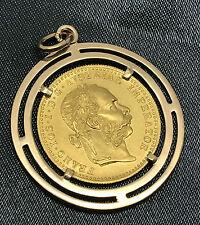 Anhänger 1 DUKATEN Goldmünze 1915(NP?) Österreich Ketten Charivaris Sammler 6 g