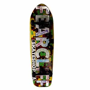Details about FearCliff Skate-shop Skateboard Virginia Complete Board  (Signed Autographed)