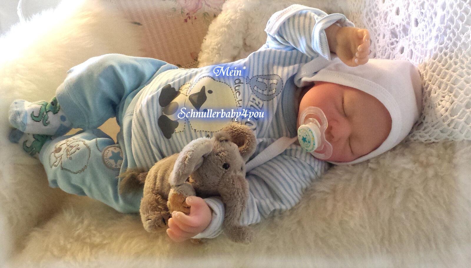 ✨♥Reborn Reallife Baby BS v.U.L Krautter Babypuppe Puppe Künstlerpuppe♥✨