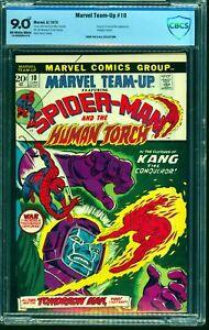 Marvel-Team-up-10-CBCS-VF-NM-9-0-Off-White-to-White-Comics