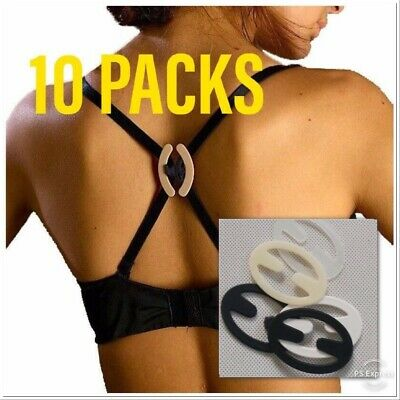 Free Ship! 8 Pack Bra Clips Hides your Bra Straps Conceal Razorback Tanks Lift