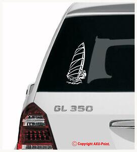WINDSURFING-Mistral-JP-Starboard-HiFly-Fanatic-car-van-sticker-20cmH-x-9-5cmW