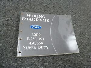2009 Ford F350 Super Duty Truck Electrical Wiring Diagrams ...