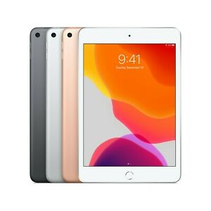 "New Sealed Apple iPad Mini 5 64GB 256GB Gray Gold Silver 7.9"" WiFi Only"