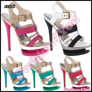 Sexy-Women-039-s-Ladies-High-Heels-Sandals-Casual-Summer-Shoes-Size-3-4-5-6-7-UK-New
