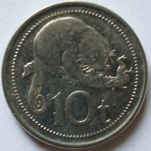 Papua New Guinea 2005 10 Toea coin