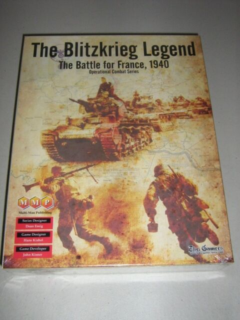 The Blitzkrieg Legend: The Battle for France, 1940 (New)
