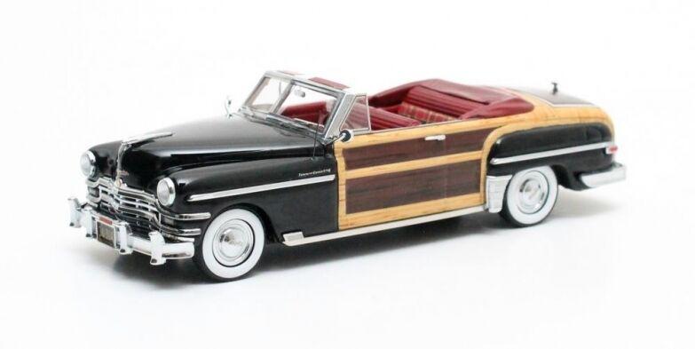 Matrix MAX20303-042 - Chrysler Town & Country cabriolet noir   bois - 1949 1 43