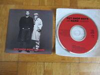 PET SHOP BOYS So Hard 1990 UK CD single (k) extended