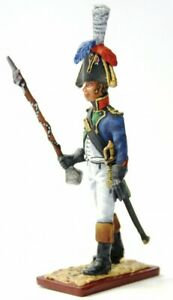 Painted-Tin-Toy-Soldier-Tambour-Major-of-the-4th-Regiment-54mm-1-32