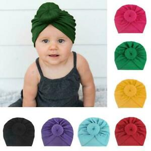 Baby-Toddler-Girl-Kid-Bunny-Rabbit-Bow-Knot-Turban-Hair-Band-Headwrap-Headb-P8E3